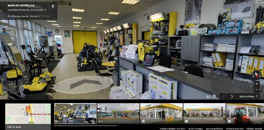 Kaercher Brno - Google Business View