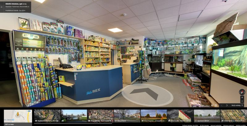 Sklorex Brno - Google Business View